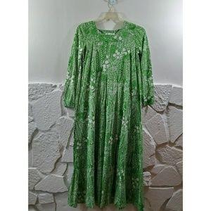 Vintage Saks Fifth Avenue Print Dress